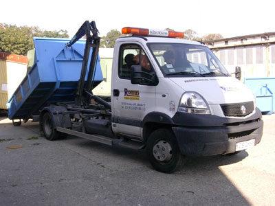Dzierżawa kontenerów i transport odpadów